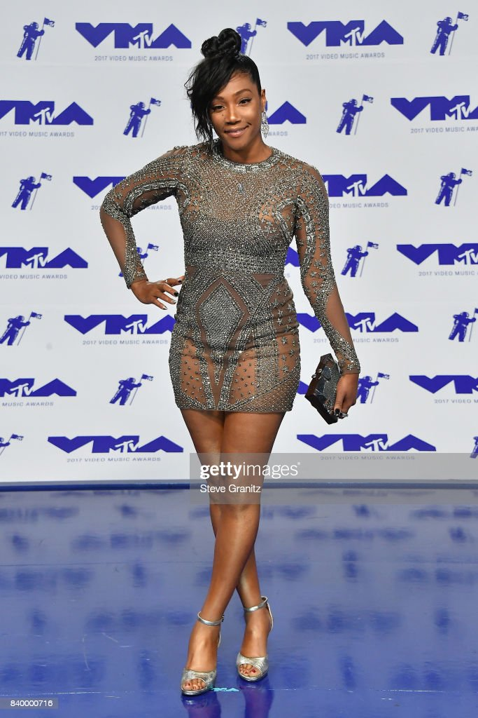 Tiffany Haddish attends the 2017 MTV Video Music Awards at The Forum on August 27, 2017 in Inglewood, California.