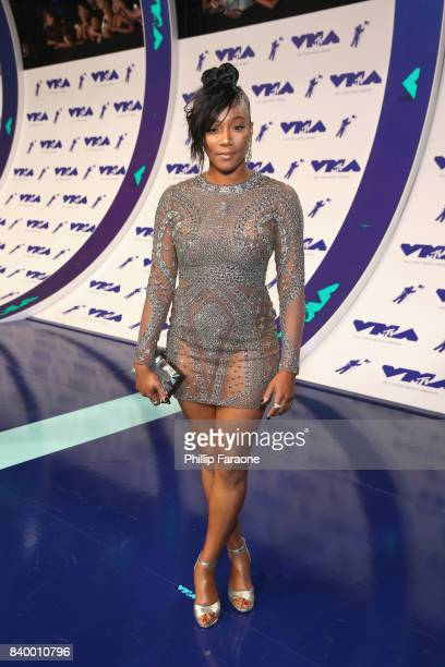 Tiffany Haddish attends the 2017 MTV Video Music Awards at The Forum on August 27 2017 in Inglewood California