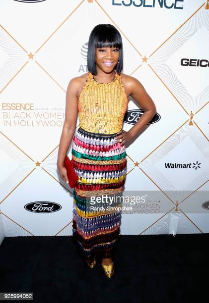Tiffany Haddish attends the 2018 Essence Black Women In Hollywood Oscars Luncheon at Regent Beverly Wilshire Hotel on March 1 2018 in Beverly Hills...