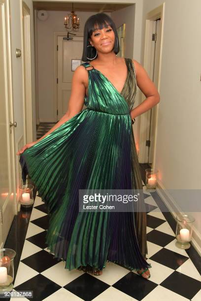 Tiffany Haddish attends the 2018 Gersh Oscar party presented by Tequila Don Julio 1942 at Chateau Marmont on March 1 2018 in Los Angeles California