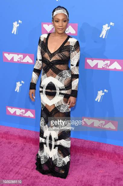 Tiffany Haddish attends the 2018 MTV Video Music Awards at Radio City Music Hall on August 20 2018 in New York City