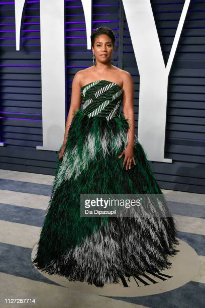 Tiffany Haddish attends the 2019 Vanity Fair Oscar Party hosted by Radhika Jones at Wallis Annenberg Center for the Performing Arts on February 24...
