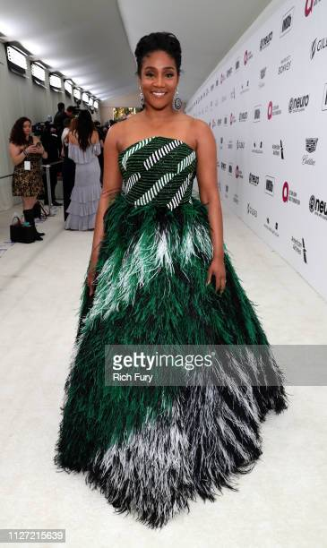 Tiffany Haddish attends the 27th annual Elton John AIDS Foundation Academy Awards Viewing Party sponsored by IMDb and Neuro Drinks celebrating EJAF...