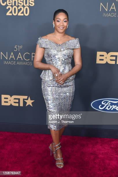 Tiffany Haddish attends the 51st NAACP Image Awards at the Pasadena Civic Auditorium on February 22 2020 in Pasadena California