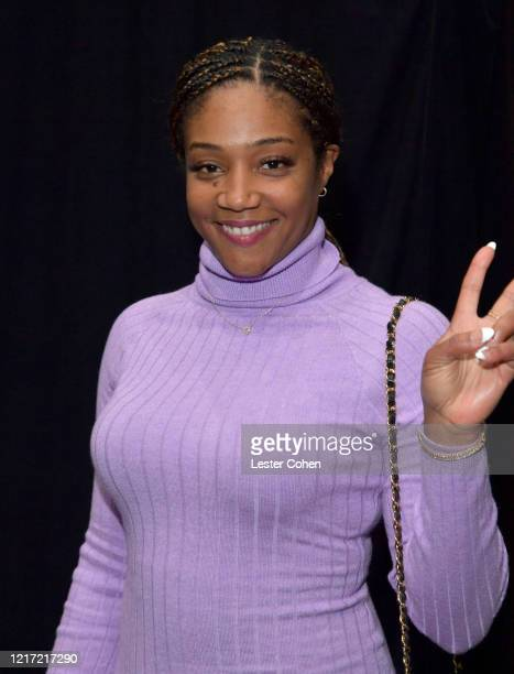 Tiffany Haddish attends the 62nd Annual GRAMMY Awards Let's Go Crazy The GRAMMY Salute To Prince on January 28 2020 in Los Angeles California
