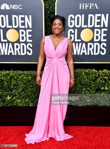 Tiffany Haddish attends the 77th Annual Golden Globe Awards at The Beverly Hilton Hotel on January 05 2020 in Beverly Hills California