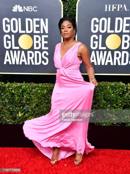 Tiffany Haddish attends the 77th Annual Golden Globe Awards at The Beverly Hilton Hotel on January 05, 2020 in Beverly Hills, California.