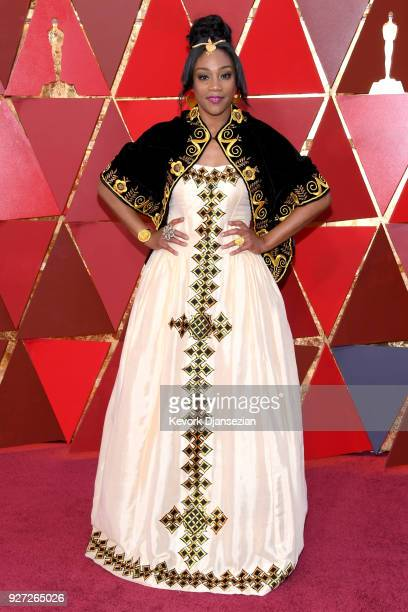 Tiffany Haddish attends the 90th Annual Academy Awards at Hollywood Highland Center on March 4 2018 in Hollywood California