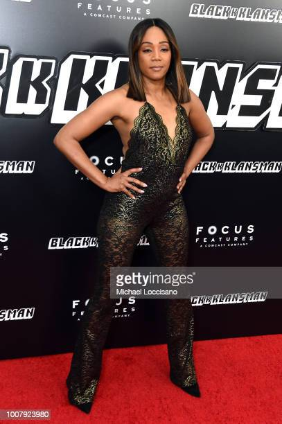 Tiffany Haddish attends the 'BlacKkKlansman' New York Premiere at Brooklyn Academy of Music on July 30 2018 in New York City