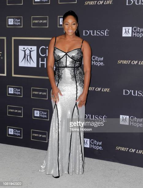 Tiffany Haddish attends the City of Hope Gala on October 11 2018 in Los Angeles California