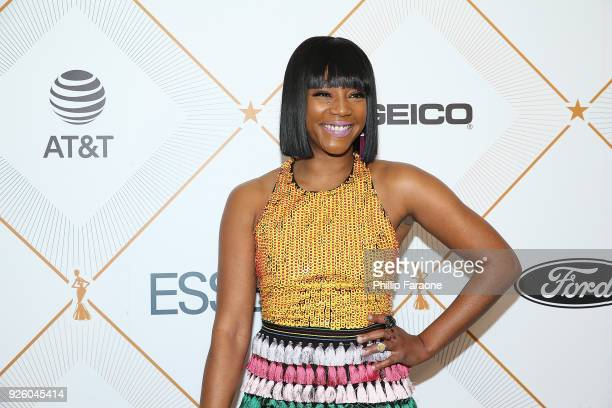 Tiffany Haddish attends the Essence 11th Annual Black Women In Hollywood Awards Gala at the Beverly Wilshire Four Seasons Hotel on March 1 2018 in...