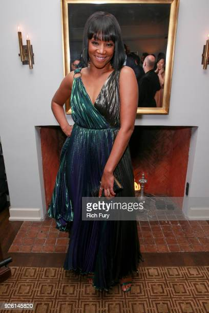 Tiffany Haddish attends the Gersh Oscar Party at Chateau Marmont on March 1 2018 in Los Angeles California