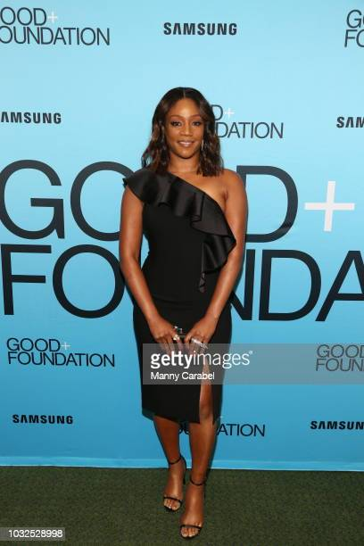 Tiffany Haddish attends the GOOD Foundation An Evening of Comedy Music Benefit at Carnegie Hall on September 12 2018 in New York City