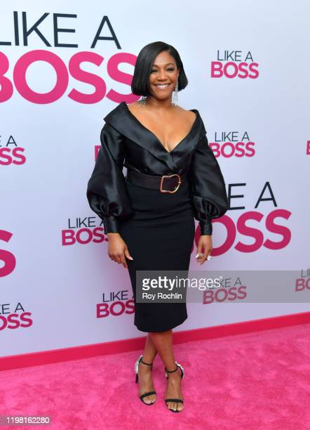Tiffany Haddish attends the Paramount Pictures' Like A Boss World Premiere at the SVA Theater on January 7 2020 in New York New York