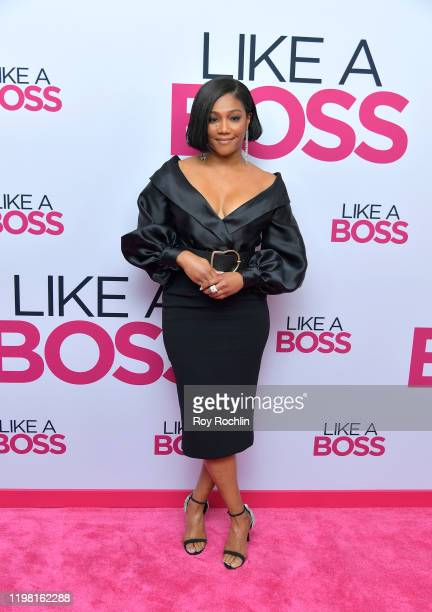"""Tiffany Haddish attends the Paramount Pictures' """"Like A Boss"""" World Premiere at the SVA Theater on January 7, 2020 in New York, New York."""