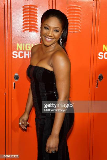 Tiffany Haddish attends the premiere of Universal Pictures' Night School on September 24 2018 in Los Angeles California