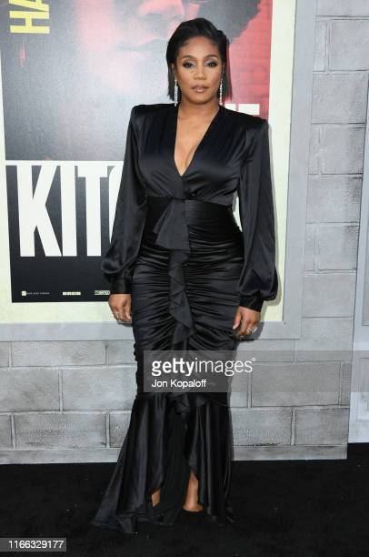 """Tiffany Haddish attends the Premiere Of Warner Bros Pictures' """"The Kitchen"""" at TCL Chinese Theatre on August 05, 2019 in Hollywood, California."""