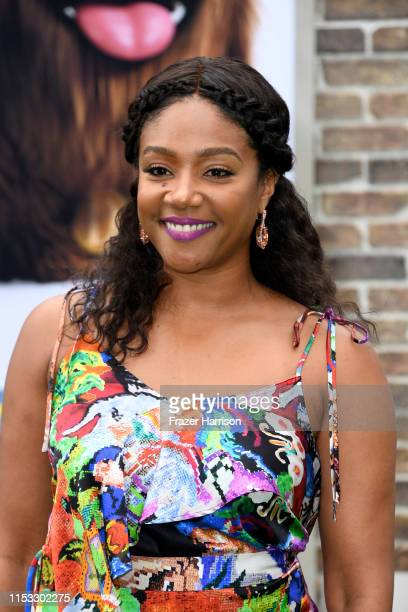 Tiffany Haddish attends The Secret Life Of Pets 2 at Regency Village Theatre on June 02 2019 in Westwood California