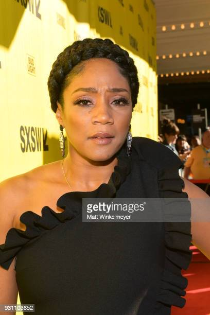 Tiffany Haddish attends the 'The Last OG' Premiere 2018 SXSW Conference and Festivals at Paramount Theatre on March 12 2018 in Austin Texas