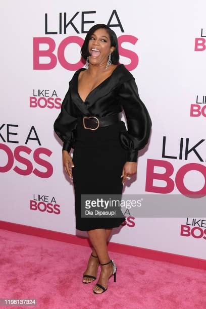 """Tiffany Haddish attends the world premiere of """"Like A Boss"""" at SVA Theater on January 07, 2020 in New York City."""