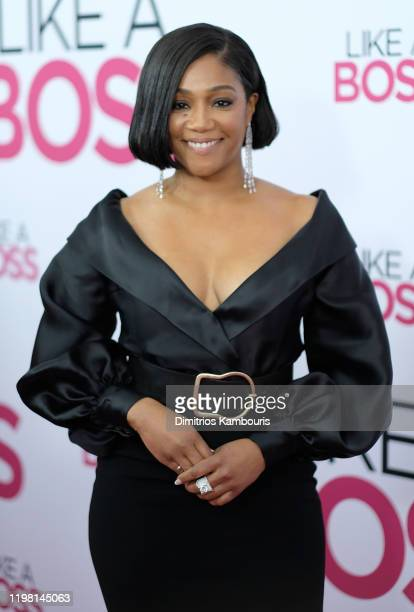 Tiffany Haddish attends the world premiere of Like A Boss at SVA Theater on January 07 2020 in New York City