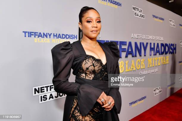 Tiffany Haddish attends Tiffany Haddish Black Mitzvah at SLS Hotel on December 03 2019 in Beverly Hills California
