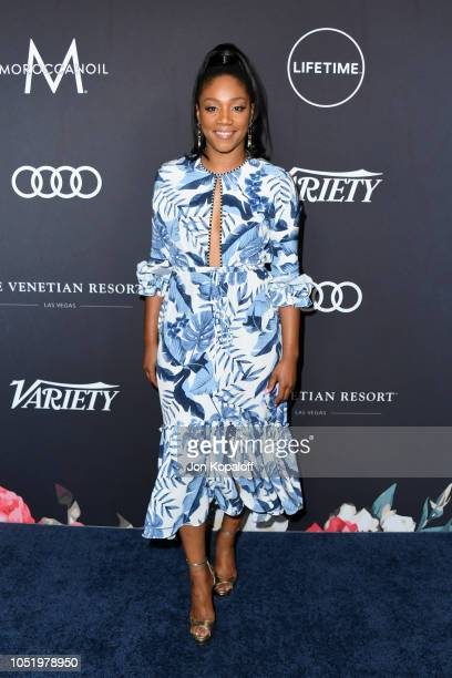 Tiffany Haddish attends Variety's Power Of Women Los Angeles at the Beverly Wilshire Four Seasons Hotel on October 12 2018 in Beverly Hills California