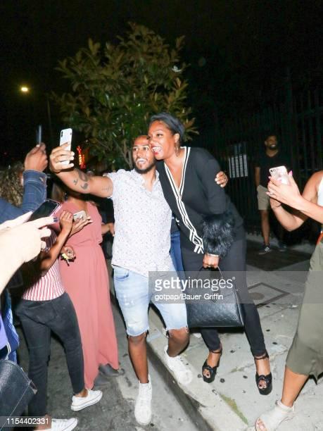 Tiffany Haddish is seen on July 06 2019 in Los Angeles California