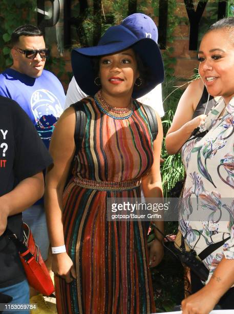 Tiffany Haddish is seen on June 30 2019 in Los Angeles California