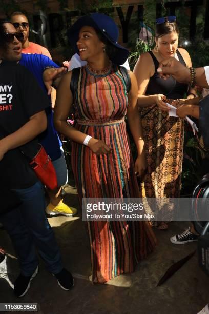 Tiffany Haddish is seen on June 30 2019 in Los Angeles