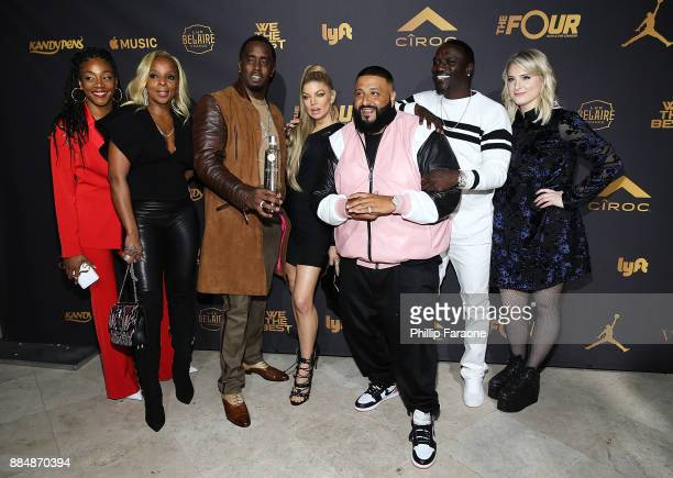 Tiffany Haddish Mary J Blige Sean 'Diddy' Combs Fergie DJ Khaled Akon and Meghan Trainor attend Ciroc Celebrates DJ Khaled's Birthday in Beverly...