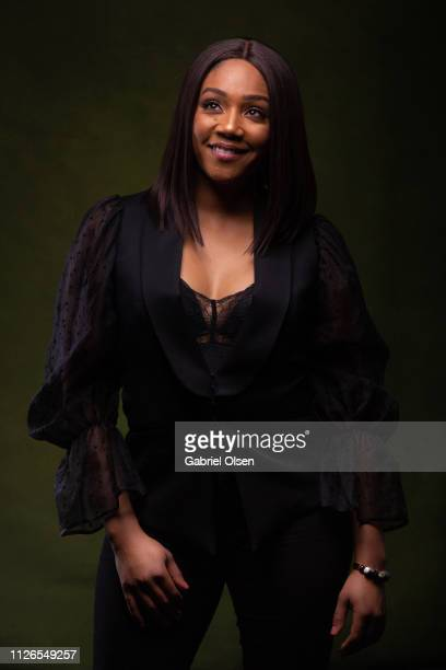 Tiffany Haddish poses for a portrait at Morgan Stanley presents Alfre Woodard's 10th Annual Sistahs' Soiree on February 20 2019 in Los Angeles...