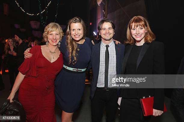 Tiffany Hume Marianna Palka Jason Ritter and Bryce Dallas Howard attend Huntington's Disease Society Of America 2014 Freeze HD Benefit at Mack...