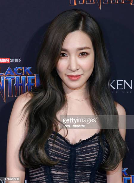 Tiffany Hwang attends Marvel Studios Presents Black Panther Welcome To Wakanda during February 2018 New York Fashion Week The Shows at Industria...