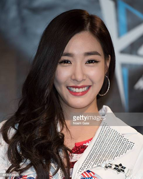 Tiffany Hwang attends the 2015 KPop Festival at Prudential Center on August 8 2015 in Newark New Jersey