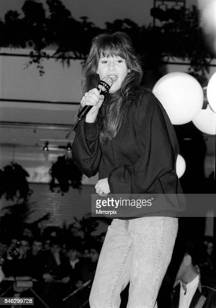 Tiffany Jan 1988 Pop star performed at Trocadero 21st January 1988