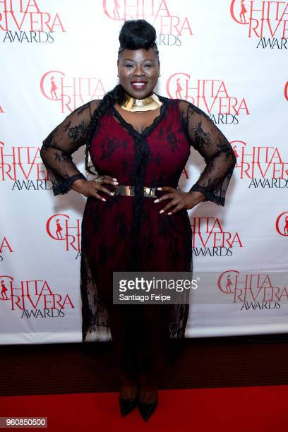 Tiffany Mann attends the 2018 Chita Rivera Awards at NYU Skirball Center on May 20 2018 in New York City