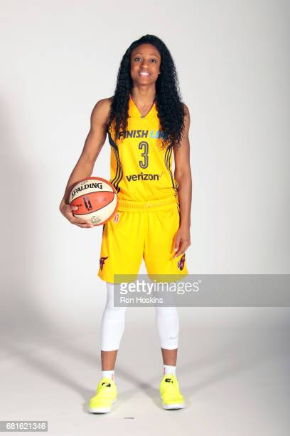 Tiffany Mitchell of the Indiana Fever poses for a portrait during Media Day at Bankers Life Fieldhouse on May 9 2017 in Indianapolis Indiana NOTE TO...