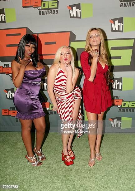 Tiffany New York Patterson Jesselynn Wire Desmond and Britney Tiger Morano of Flavor Of Love arrive to the VH1 Big in '06 Awards held at Sony Studios...