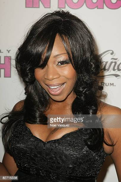 Tiffany New York Pollard attends InTouch Weekly's ICONSIDOLS PostVMA Celebration at Chateau Marmont on September 7 2008 in Los Angeles California