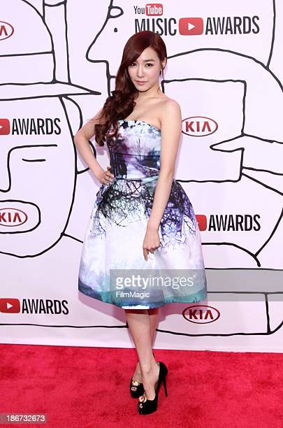Tiffany of Girls' Generation attends the YouTube Music Awards 2013 on November 3, 2013 in New York City.