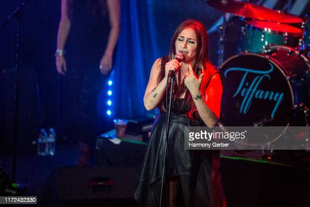 Tiffany Performs at the Whisky A Go Go on September 04 2019 in West Hollywood California