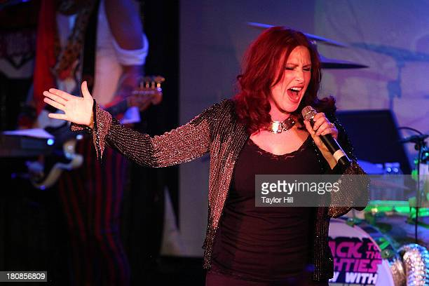 Tiffany performs during Canal Room's 10 Year Anniversary at Canal Room on September 16 2013 in New York City