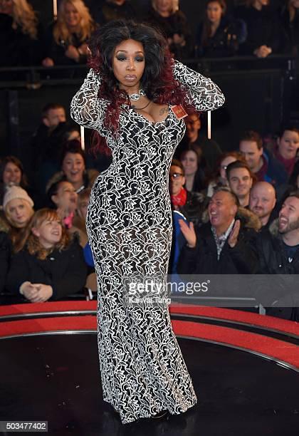 Tiffany Pollard enters the Celebrity Big Brother House at Elstree Studios on January 5 2016 in Borehamwood England