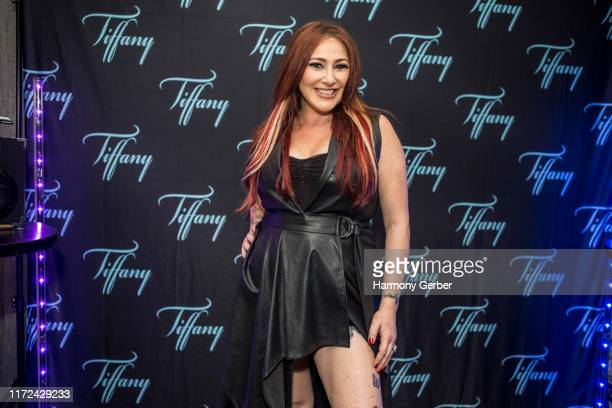 Tiffany poses for a portrait backstage at the Whisky A Go Go on September 04 2019 in West Hollywood California