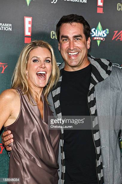 Tiffany Riggle and actor Rob Riggle arrive at Variety's Power of Comedy presented by The Sims 3 benefiting The Noreen Fraser Foundation at Hollywood...