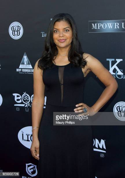 Tiffany Rose attends Couture Against Cancer hosted by Andre Drummond and Angel Brinks on February 17 2018 in Los Angeles California
