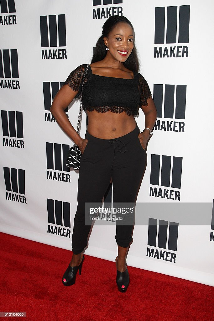 Tiffany Rothe attends the Maker Studios Spark Premiere Event at ArcLight Cinemas on February 29, 2016 in Culver City, California.