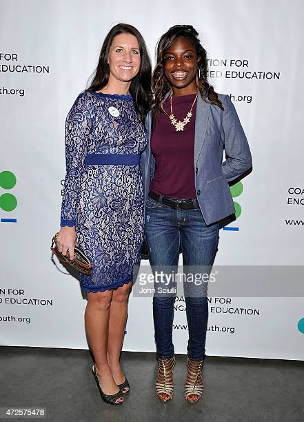 Tiffany Shirley Director C/FORWARD and Sequoia Canada attend Coalition for Engaged Education 2nd Annual Poetic Justice 2015 fundraiser event on May 7...