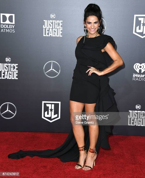 Tiffany Smith arrives at the Premiere Of Warner Bros Pictures' 'Justice League' at Dolby Theatre on November 13 2017 in Hollywood California